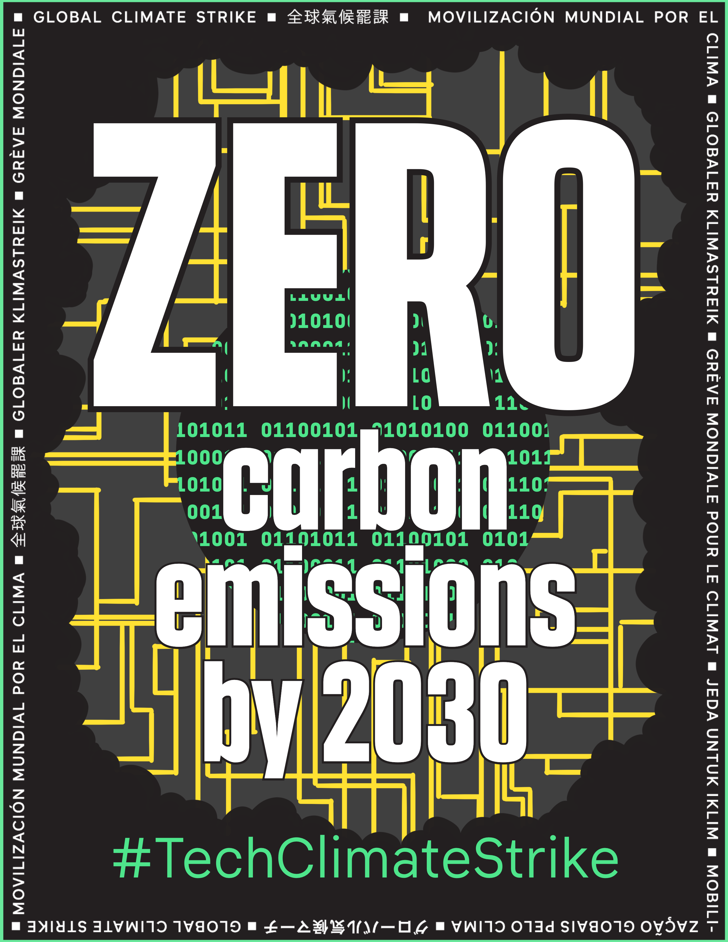 Zero carbon emissions by 2030