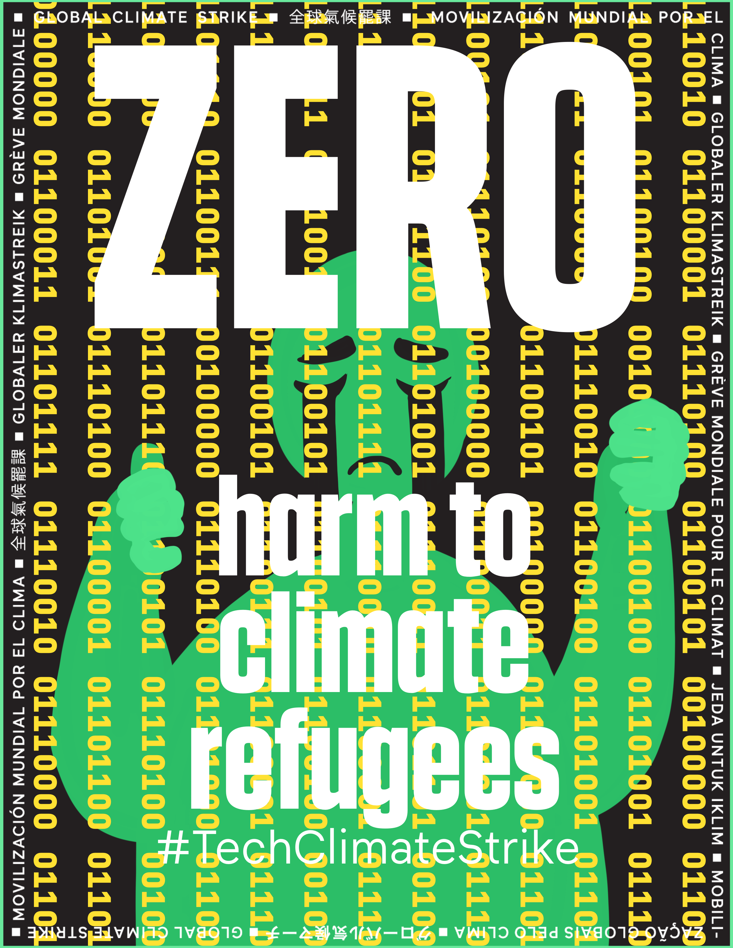 Zero harm to climate refugees and frontline communities